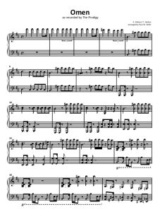 Prodigy Omen sheet music